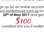 Hurry Grab Your $100 FREE AudioHouse eVouchers 25th Only!