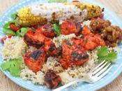 Tandoori Chicken Tikka with Masala Grilled Corn #BBQWeek #GiveAway