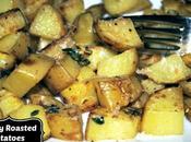 Crispy Yukon Gold Roasted Potatoes with Garlic Thyme