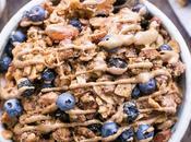 Blueberry Almond Butter Grain-Free Granola (Gluten-Free, Paleo Vegan)