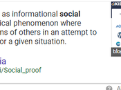 What Social Proof Really Need Today?