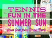 Tennis Summer Great Gear from Trunk