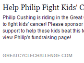 Donate Take Stand Fight Kids' Cancer