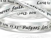 Gift Personalized Engraved Ring With Love Message