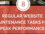 Regular Website Maintenance Tasks Peak Performance