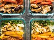 Satay Chicken Meal Prep Lunch Bowls