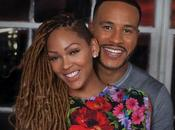 DeVon Franklin Meagan Good Kick Year Anniversary Balloon