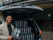 Christian Athlete Russell Wilson Deliver Father's Gifts Seattle Children's Hospital