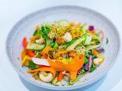 Tofu Salad with Cashew Dressing