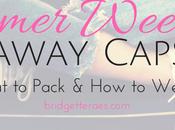 Summer Weekend Getaway Capsule: What Pack
