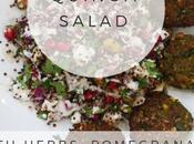 Recipe: Herby Quinoa Salad with Nuts, Feta Pomegranate