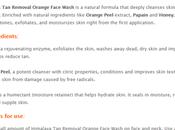 Himalaya Herbals Removal Orange Face Wash, Scrub, Peel-off Mask Review