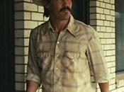 Llewelyn Moss: Cream-and-Brown Plaid Shirt