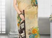 Designer Printed Sarees Only