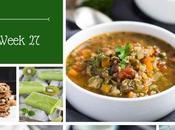 Healthy Weekly Meal Plan Week