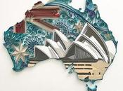 Modern Quilling with Paper Cutting Akiko Makihara
