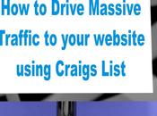 Drive Massive Traffic Your Website Using Craigs List