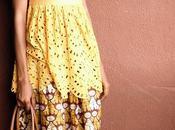 Duty Style Vlisco Ankara Crown Print Skirt