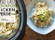 Stupid Easy Slow Cooker Chicken Verde (paleo, Gluten Free)