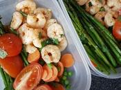 Meal Prep Lemon Butter Garlic Prawns