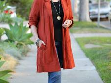 Outfit: Lightweight Jacket Summer Into Fall