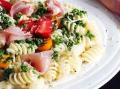 Easy Pasta with Pancetta Lemony Gremolata Sauce