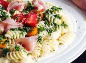 Easy Pasta with Pancetta Lemony Gremolata Sauce