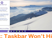 Fix: Taskbar Won't Hide (Auto-Hide Feature Working) Windows