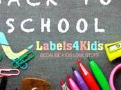 Back School With Labels Kids