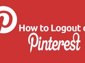 Logout Pinterest: Complete Guide