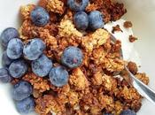 Banana, Honey Crunchy Granola Gluten Free Option