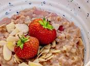 Recipe|| Strawberry Almond Porridge