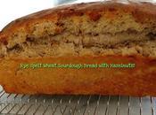 Spelt Wheat Sourdough Bread Studded with Roasted Hazelnuts!