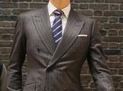 Kingsman: Secret Service Harry's Charcoal Striped Suit