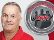 "Ryder Maintenance Technician Wins Annual ""Top Tech"" Title $50,000"