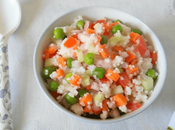 Barnyard Millet Vegetable Salad Toddlers