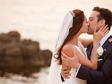 Naturally Beautiful Wedding Mykonos Lara George