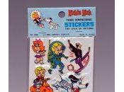 Starting Richie Rich Three Dimensional Stickers Exhibits