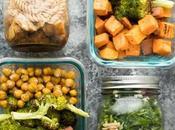 Meal Prep: Balsamic Pasta Salads Sweet Potato, Chickpea, Broccoli Bowls