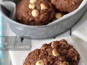 Extremely Chocolaty Fudgy Double Chocolate Fudge Cookies (Anneka Manning)