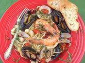 Spaghetti Allo Scoglio #FishFridayFoodies