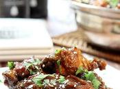 Sweet, Spicy Sticky Chicken Wings Slow Cooker