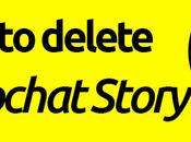 Delete Snapchat Story