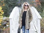 Faux Leopard Jacket