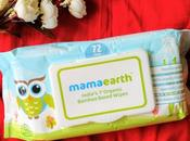 Mama Earth Wipes India's First Organic Bamboo Based Baby