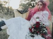 Spooky Bridals Halloween Inspired with Punk Rock Attitude