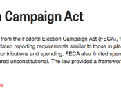 Campaign Finance Laws Court Decisions Modern