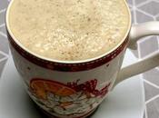 Vegan Gluten-free Café Latte with NuNaturals Nustevia Chai Spice Syrup!
