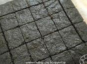 Black Sesame Brownie