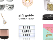 Gift Guide Under